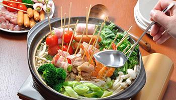 自宅で鍋をつくる主婦は95%! 今年のトレンドは『パーティー串鍋』