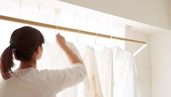 花粉の季節でも、毎日が洗濯日和 ソライエ室内物干し 1月30日発売