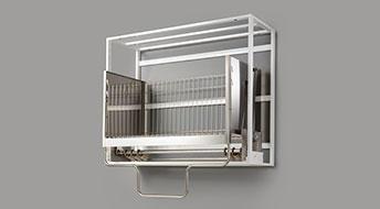 Down Cabinet Pro 業務用(昇降機能付)整理整頓棚